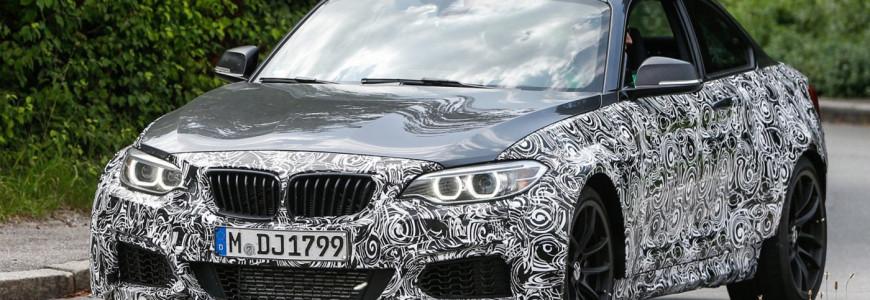 BMW M2 spyshot 2015