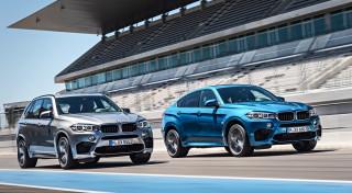 BMW X5 M en X6 M 2015