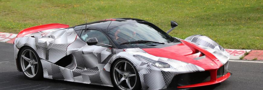 Ferrari LaFerrari XX Spyshot Nurburgring