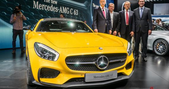 Mercedes AMG GT S Mondial de l'automobile 2014-10