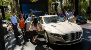 Aston Martin Lagonda Taraf reveal Dubai