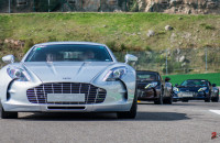 Aston Martin on Track Spa-Francorchamps One-77 vantage-1-2