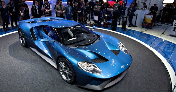 2016 2015 Ford GT Detroit Motor Show NAIAS