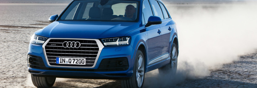 Audi Q7 2015 model