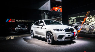 BMW M display X6 M IAA Frankfurt 2013-1