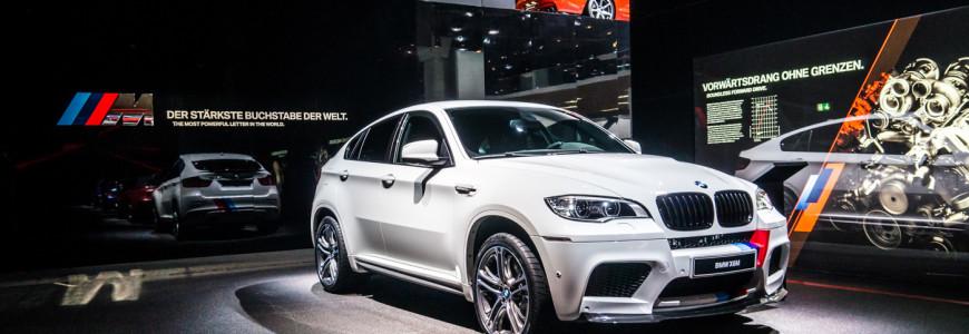 BMW M display X6 M IAA Frankfurt 2013-1