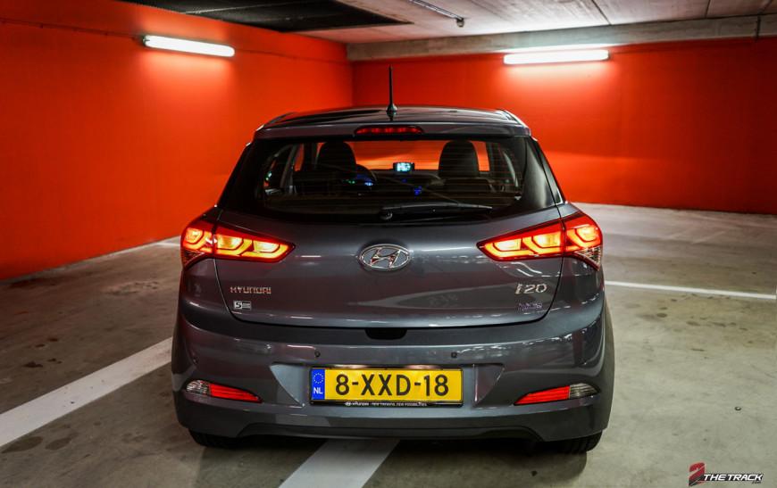Hyundai i20 kofferbak dicht
