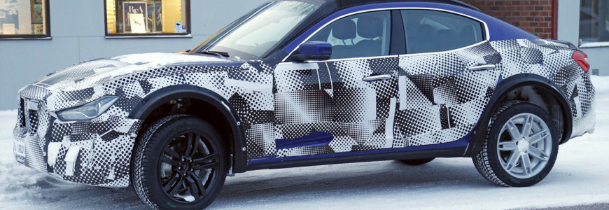 Maserati Levante Mule Spyshot 2015 2016