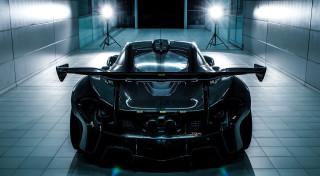 McLaren P1 GTR prototype testing car 2015 2016 McLaren Woking Center