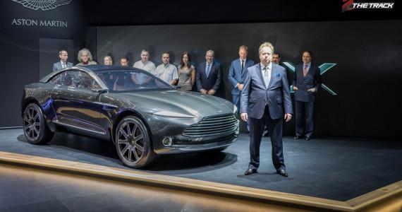Aston Martin DBX Concept Andy Palmer Aston Martin stakeholders Autosalon Geneva Motor Show 2015-1