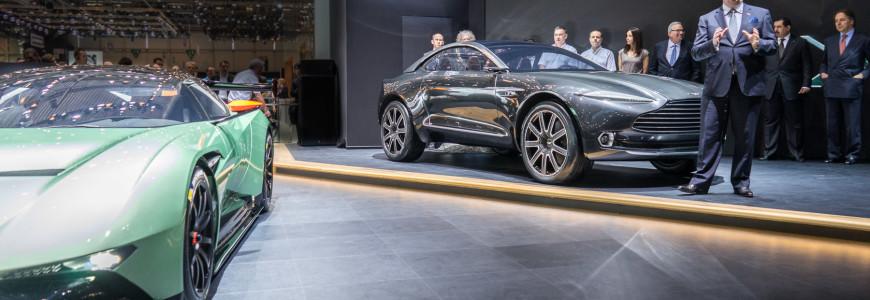 Aston Martin press conference DBX concept Vulcan Geneva Motor Show 2015-1