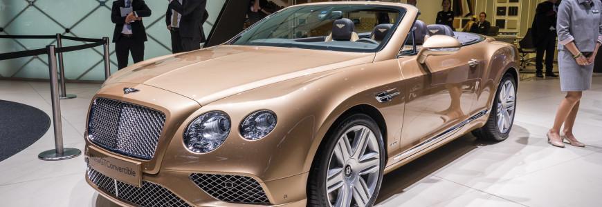 Bentley Continental GTC Convertible Autosalon Geneva Motor Show 2015-1
