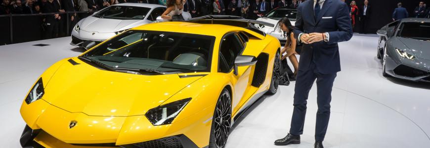 Lamborghini LP750-4 Aventador SV Super Veloce Stephan Winkelmann Geneva Motor Show 2015-1