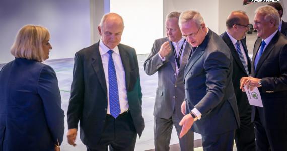 Ferdinand Piech Martin Winterkorn Geneva Motor Show 2015-1