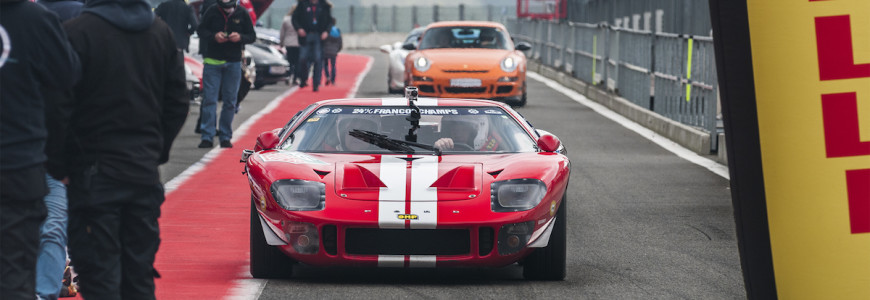 Ford GT40 Gran Turismo Events Spa Francorchamps 2014