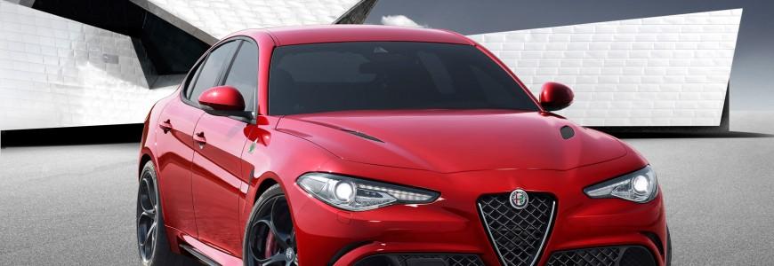 Alfa Romeo Giulia 2016 IAA Frankfurt premiere 2015