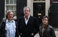 Jeremy Clarkson James May Richard Hammond Downing Street London Amazon prime video 2016
