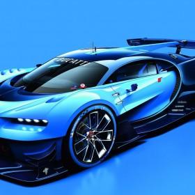 Bugatti Vision Gran Turismo Polyphony Digital Chiron IAA Frankfurt 2015