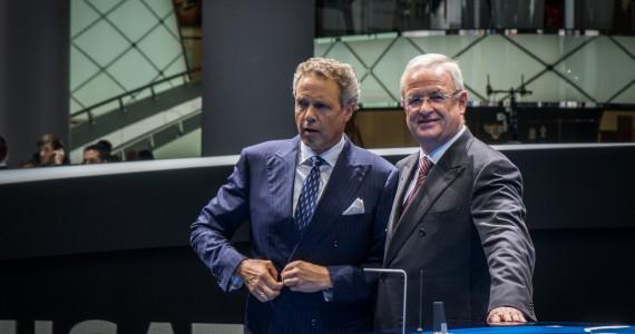 Martin Winterkorn CEO Volkswagen AG VAG IAA Frankfurt 2015-1