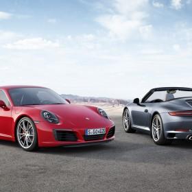 Porsche 911 Carrera S Carrera Cabriolet 991 MKII IAA Frankfurt 2015 debute
