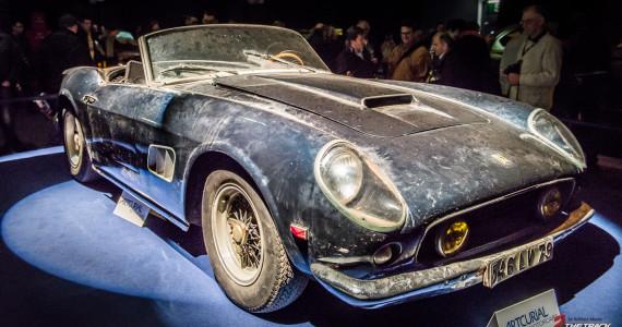 Artcurial Salon Retromobile 2015 Paris Ferrari 250 California Spider SWB-1